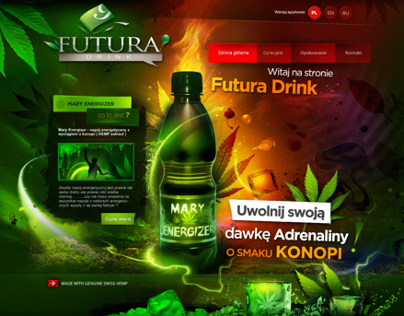 FUTURA DRINK - graphic design