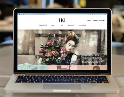 Demo redesign homepage Iki.vn