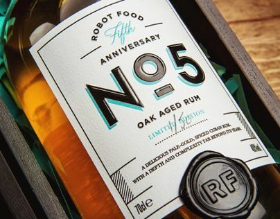5 Years of Robot Food | Anniversary Rum