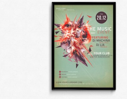 The Music Event Flyer Template