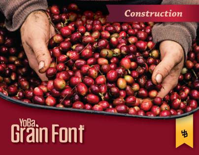 YoBa Grain Font