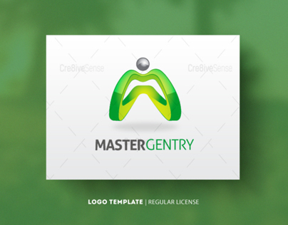 Master Gentry Regular Logo $30