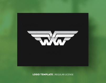 Initial Letter W Regular Logo $30