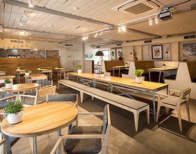 Furniture in Fooodcafe