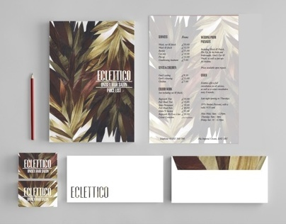 ECLETTICO // HAIR SALON BRANDING