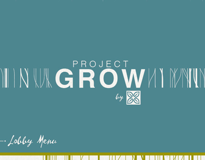 Hilton Garden Inn - Project Grow Menu