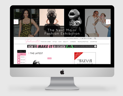 Fashionista.com Redesign