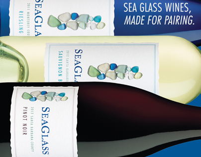 SeaGlass Wines Table Tent
