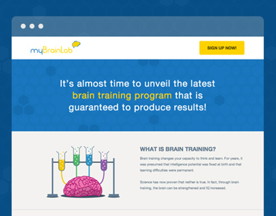 My Brain Lab | One-on-one cognitive skills training