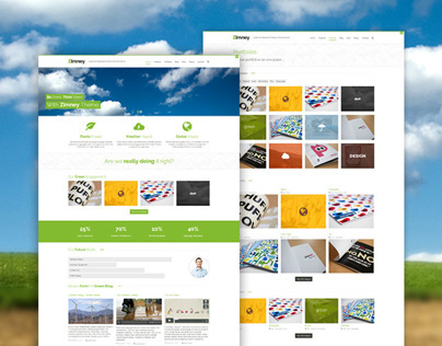 Zimney WP - Eco-friendly WordPress theme with ecommerce