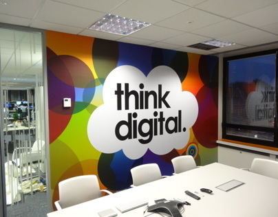 Direct Line Office Branding - London