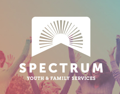 Spectrum Youth & Family Services Web Site Concepts