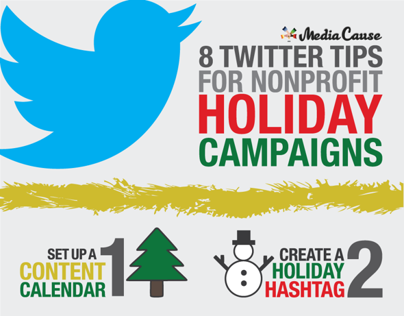 Holiday Twitter Campaign Infographic