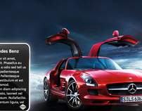 Mercedes Benz - Dashboard on Singtel mioTV