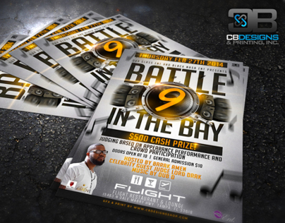 Battle in the Bay 9 | Club Flyer Design