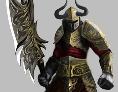 2D    Character Design   Big Guy