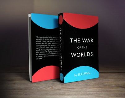 The War of the Worlds. Cover design.