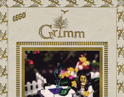 The Frog King-Grimm Lego Concept