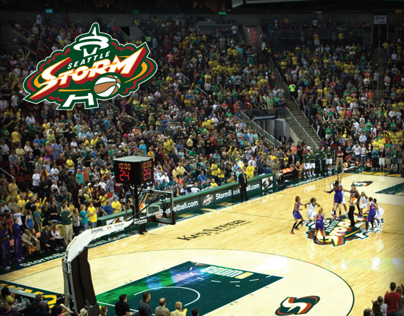 Seattle Storm: 2014 Renewal Campaign