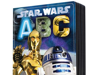 Star Wars board book SERIES - ABC, 123, & COLORS