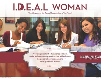 IDEAL Woman Postcard