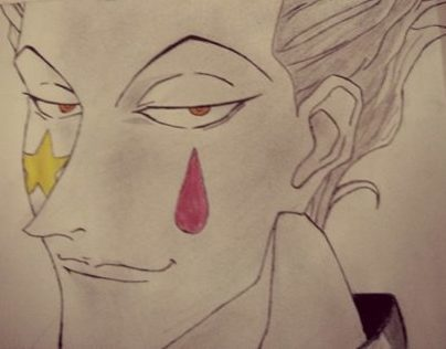 Hisoka, hunter X hunter
