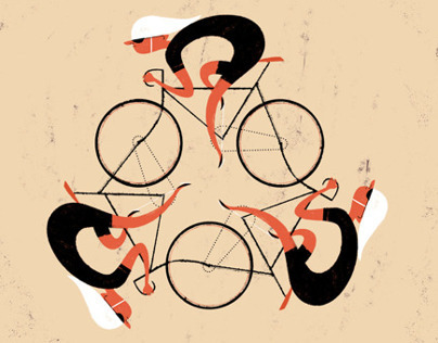 Bicycle Film Festival - Poster Art