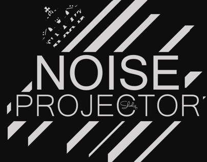 NOISE PROJECTOR Cover Art - Simple Black