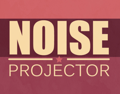 Noise Projector Cover Art - Retro Star