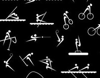 NIKE -OLYMPIC GAMES PICTOGRAMS