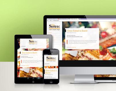 The Shoppe - Branding & Web Design