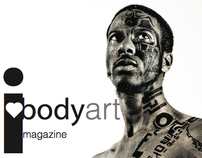 I heart Bodyart magazine 2009