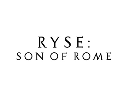 Ryse. Custom Type for titles.
