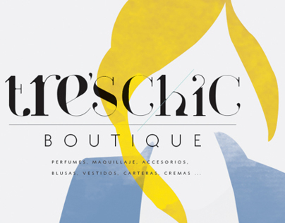 Tre's Chic Boutique New branding