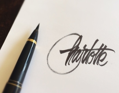 Brush Pen Lettering Videos of 2013