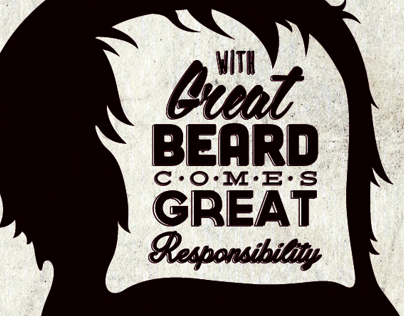 With Great Beard...