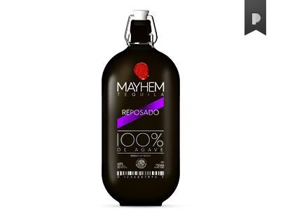 MAYHEM Tequila Packaging Concept