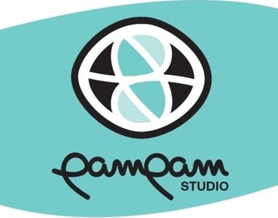 Logo Pampam Studio