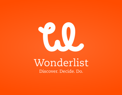 Wonderlist identity + mobile design