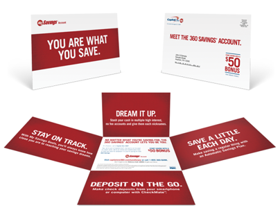 Capital One 360 Direct Mail