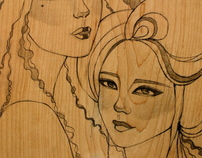 Wood Illustrations