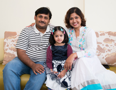 Portrait Shoot - Partha and Family