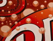 Poster Design from Beverage: Dr. Pepper