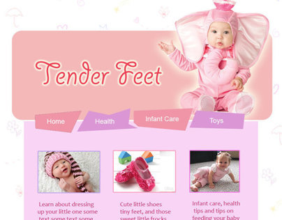 Baby Website Design