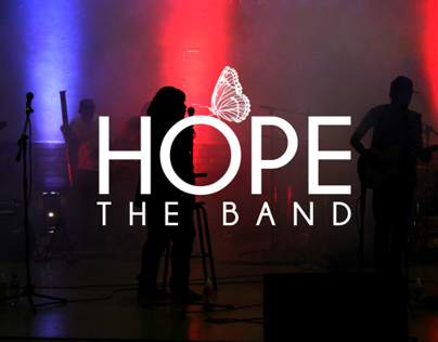 Graphic Design work for Hope The Band