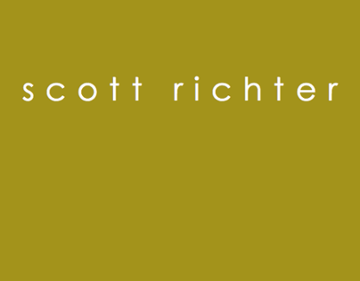 SCOTT RICHTER Catalog