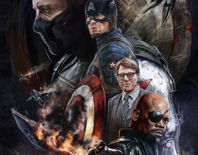 Captain America: The Winter Soldier / Poster Posse #5