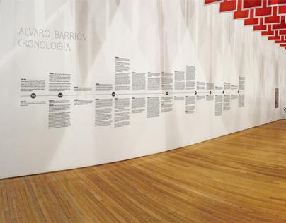 Exposición Álvaro Barrios (cronología)