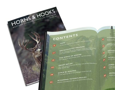 Horns & Hooks: Western Outdoor Adventure Magazine
