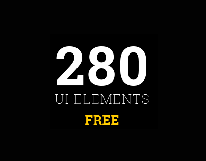 MUI Elements - 280 UI elements in 3 styles